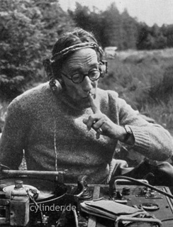 Fig. 2: Ludwig Koch during field recordings